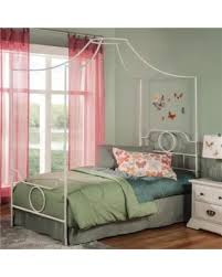 Metal Canopy Bed Frame Get The Deal 20 Off Emsworth Kids Metal Canopy Bed With