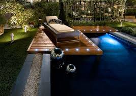 outdoor pool deck lighting deck lights pool lighting decking lighting pool surround oil