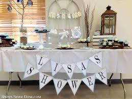 Bridal Shower Signs Easy Baby Bridal Shower Rustic Banner