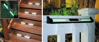 Solar Lights Patio by Low Profile Solar Light White Led Lights For Your Patio Steps