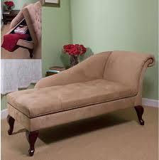chaise lounge chair storage lounger furniture modern tan sofa