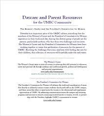 free business plan template pdf business plan templates daycare business plan template free