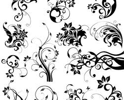 imagenes vectoriales gratis motivos florales y ornamentos decorativos vectoriales gratis