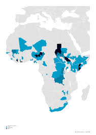 Sub Saharan Africa Map by Cabinda Is A Conflict Zone U2013 Africa Is A Country
