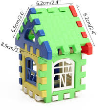 online shop 24pcs baby kid self assemble house building blocks