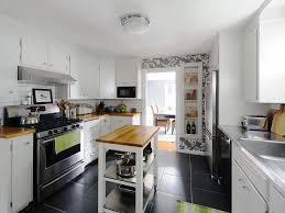 narrow kitchen islands small slim and super compact kitchen