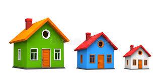 three houses three houses stock illustration illustration of house 16814897