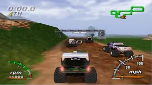 monster truck racing video monster truck madness 64 nintendo 64 gameplay youtube