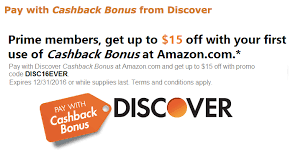 amazon gift card bonus black friday 15 free to amazon for discover card customers deals we like