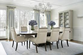 dining room drapery ideas dining room drapes chic dining room with glass top white x base