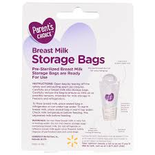 parent u0027s choice breast milk storage bags 50 count walmart com