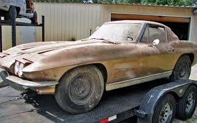 1963 corvette project car for sale split window gamble 1963 corvette coupe