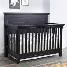 Black Convertible Crib Baby Cache Overland 4 In 1 Convertible Crib Forever Black