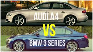 2009 audi a4 vs bmw 3 series 2015 bmw 3 series vs audi a4 comparison