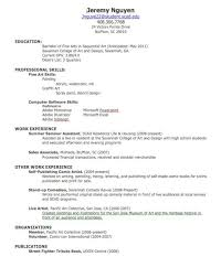 create a resume for job resume examples 2017