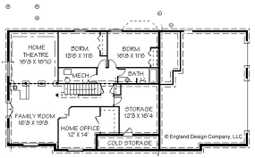 ranch style floor plans with basement luxury simple ranch house plans with basement home plans design