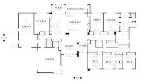 ranch home floor plans with walkout basement large ranch home floor plans makushina com