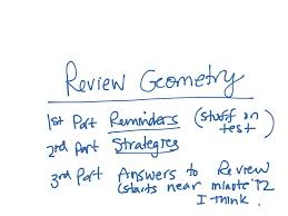 showme geometry semester 1 final review unit 1