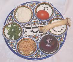 seder plate for kids messianic education trust s kids website pesach the symbols