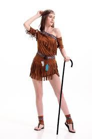 aliexpress com buy halloween costume ladies pocahontas native