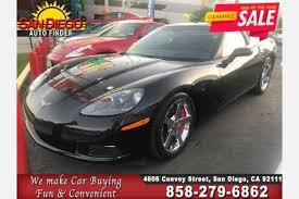 used corvette for sale used chevrolet corvette for sale in san diego ca edmunds