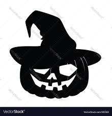halloween silhouettes free halloween pumpkin royalty free vector image vectorstock