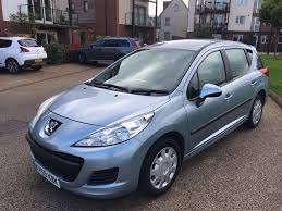 peugeot diesel estate cars for sale peugeot 207 sw 1 6 hdi s 5dr a c 2009 diesel estate service