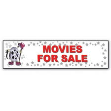 closeout movies for sale character decor sign 15 207