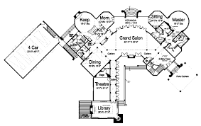 european style house plan 6 beds 6 50 baths 7236 sq ft plan 119 169