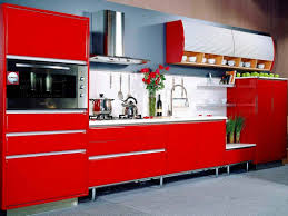 red kitchen cabinets ideas u2014 smith design simple but effective