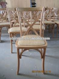 Cross Back Bistro Chair French Bistro Chairs Cross Back Dining Chair Wedding View Wedding