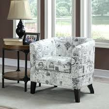 Chevron Accent Chair Gray And White Accent Chair White Grey Print Accent Chair And
