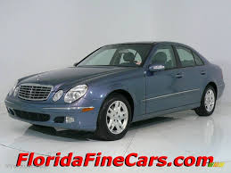 Mercedes Benz E 2003 2003 Platinum Blue Metallic Mercedes Benz E 320 Sedan 544008
