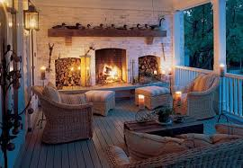 outdoor living spaces for fall and winter personal touch