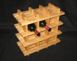 oak wine rack etsy