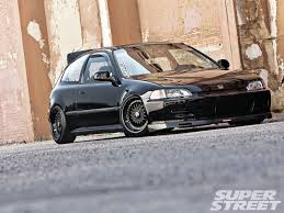 super lowered cars 1992 honda civic si jt money super street magazine