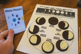 free moon phases mini book instant free homeschool