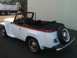 jeep jeepster interior for sale 1948 jeep willys jeepster year 1948 interior color