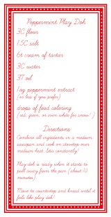 printable playdough recipes peppermint play doh recipe honest to nod