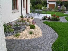 gartengestaltung mit steinen und grsern modern die besten 25 kiesgarten ideen auf sukkulentengarten