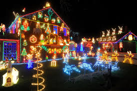 Christmas Lights On House by Xmas Lights