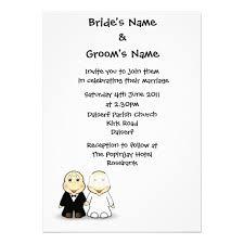 Fun Wedding Invitations Extraordinary Fun Wedding Invitation Wording From Bride And Groom