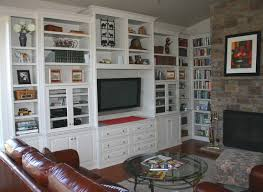 Custom Cabinets Entertainment Center Media TV Center - Family room storage cabinets