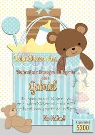 d u0026m creaciones invitacion baby shower