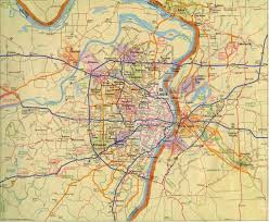 Detailed Map Of United States by Maps United States Map St Louis