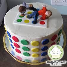 stuffed cakes twister cake