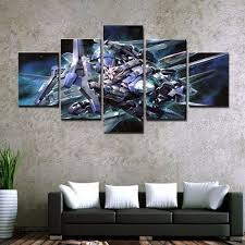modern wall canvas art printed painting for home decor framed 5