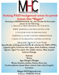 Seeking Birmingham Extras For Feature Bigger With Arnold