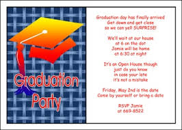 high school graduation announcement wording sle graduation open house invitation wording style by