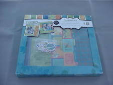 colorbok scrapbook colorbok barefoot 12x12 diy scrapbook photo album kit 16 sheets 6